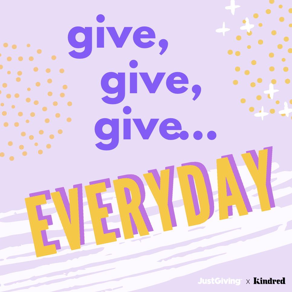 JG x Kindred -  Give everyday-1